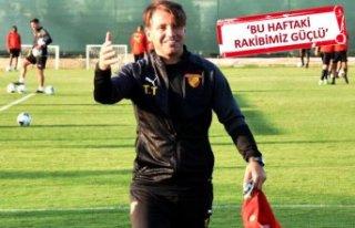 Tamer Tuna: Takımımız oyun olarak...