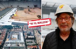 Göztepe yeni stadına kavuşuyor: Beşiktaş maçı...