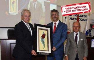 İzmir Cumhuriyet Başsavcısı Güre, EBSO toplantısında...