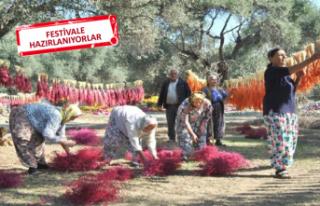 İzmir'de köylüye 'çiçek' gibi...