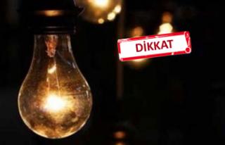 İzmir'de 18 ilçedeelektrikkesintisi