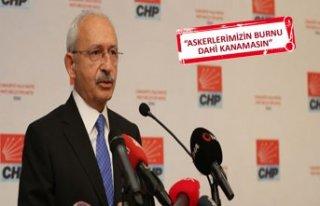 Kılıçdaroğlu'dan Barış Pınarı Harekatı...