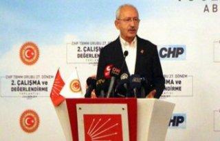 Kılıçdaroğlu: Konuşmamı malum zat da dinlesin...