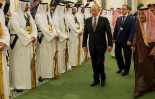 Putin'in Suudi Arabistan ziyaretindeki bando...