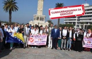 Srebrenica Anneleri'nden, 'Diyarbakır Anneleri'ne...