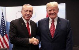 Trump, Cumhurbaşkanı Erdoğan'a teşekkür...