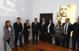 Batur Atatürk'ü doğduğu evde andı