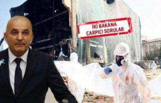 """CHP'li Polat'tan """"Asbestli dönüşüm""""..."""