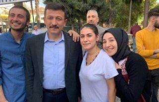 Dağ, İzmir'deki AK Noktaları ziyaret etti