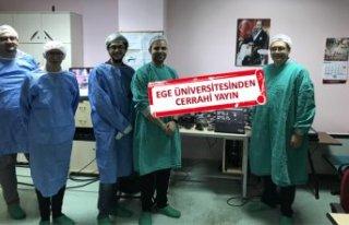 Iraklı beyin cerrahlarına canlı yayınla ameliyat...