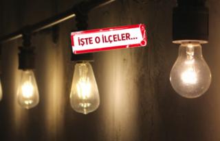 İzmir'de 19 ilçede elektrik kesintisi
