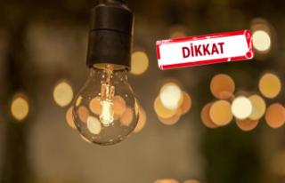 İzmir'de 21 ilçede elektrik kesintisi!