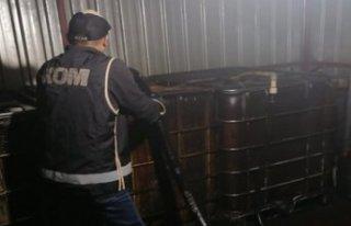 İzmir'de kaçak yakıt baskını!
