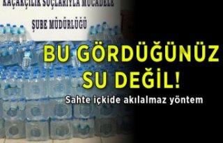 İzmir Emniyeti, sahte içkiye göz açtırmadı!