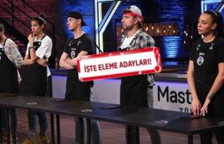 MasterChef Türkiye'de eleme adayları kimler...