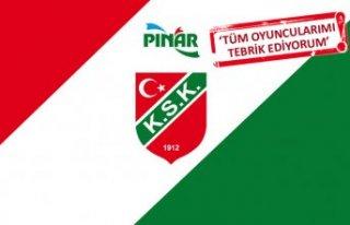 Pınar Karşıyaka'da tur sevinci