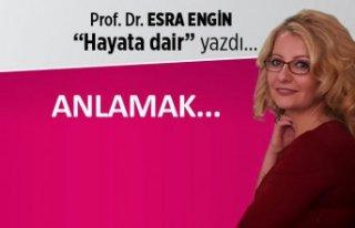 Prof. Dr. Esra Engin yazdı: Anlamak...