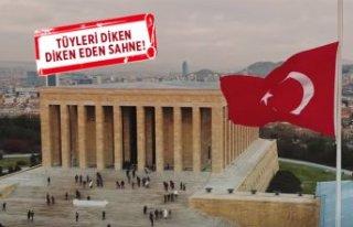 Savaşçı'da 10 Kasım'a özel Anıtkabir...