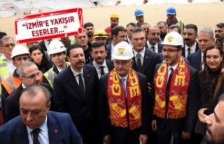 Yıldırım ve Bakan Kasapoğlu, İzmir'in yeni...