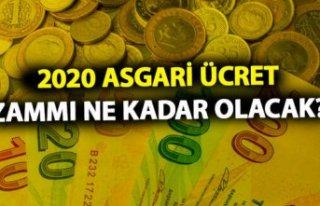 2020 asgari ücret zammı ne zaman açıklanacak,...