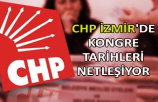 CHP İzmir'de kongre tarihleri netleşiyor