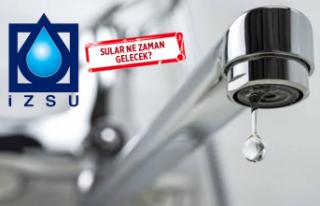 İzmir'de 86 günlük su kesintisi