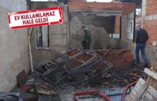 İzmir'de çıkan yangında 1 kişi yaralandı!