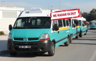 İzmir'de minibüs fiyatlarına zam geldi!