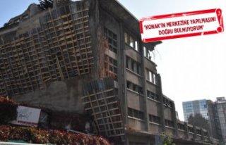 İzmir'de tartışma çıkaran gökdelen projesi...