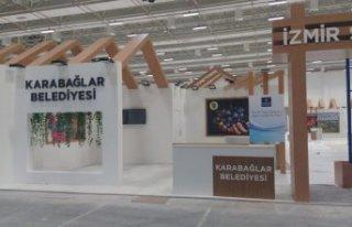 Karabağlar Belediyesi Travel Turkey Fuarı'nda