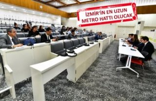 Karabağlar Metrosu'nun ihalesi için 6 firma yarıştı