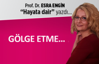 Prof. Dr. Esra ENGİN yazdı: Gölge etme...