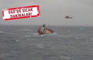 Yük tankerinden acil durum çağrısı