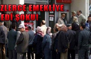 Yüzlerce Emekliye Kredi Şoku!