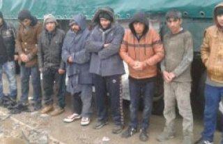 8 Kaçak Yakalandı!