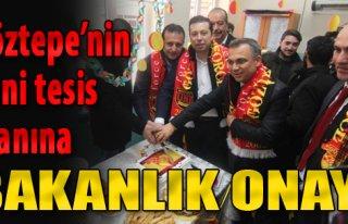 Göztepe'nin Yeni Tesis Arazisine Bakanlık Onayı...