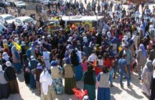 Viranşehir'de Cenazede Gerginlik