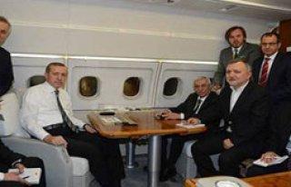Erdoğan Sinyali Uçakta Verdi!