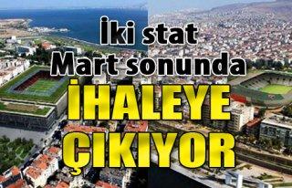 Göztepe ve Karşıyaka Stadyumları Mart Sonunda...