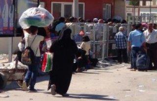350 Suriyeli Ülkelerine Döndü