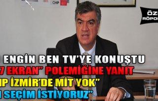 'CHP İzmir'de MİT Yok'