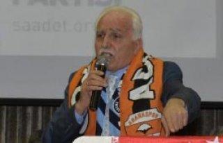 SP Genel Başkanı Kamalak Adana'da