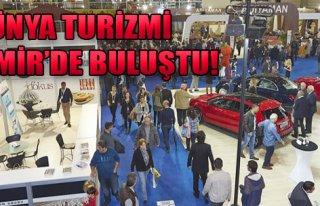 Dünya Turizmi İzmir'de Buluştu!