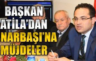 Başkan Atila'dan Pınarbaşı'na Müjdeler