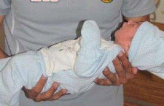 Eskişehirspor'da Bebek Sevinci