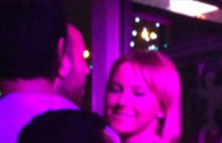 Sercan Yıldırım'la öpüştü