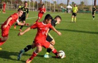 U16 Hazırlık Maçı İspanya-Türkiye: 1-1