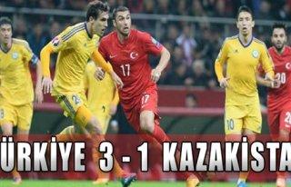 Türkiye: 3-1 Kazakistan