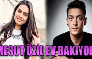 Mesut Özil İstanbul'a Ev Bakmaya Geldi