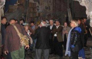 Tarihi Hamamda Keçi